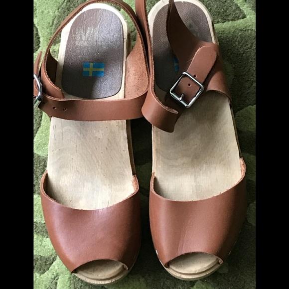 c27daf7644d7 Mia Anja Size 38 Low heeled Clogs. M 5aa433105521bec606c189b2